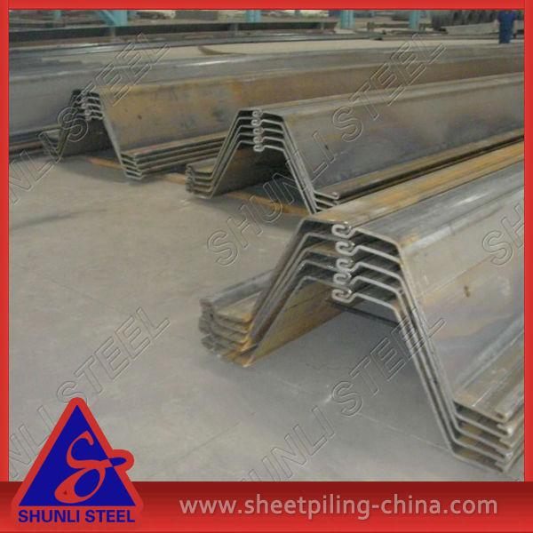 Az/pz/scz/skz Type Steel Sheet Piling