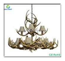 Large rustic antler chandeliers pendant light