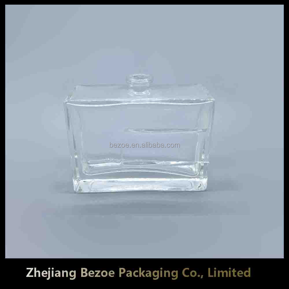 70ml empty glass custom cologne bottle wholesale for men with cap