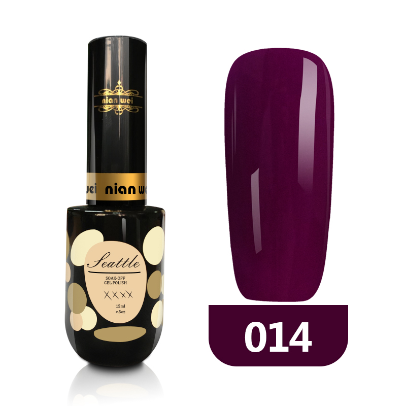 Nianwei OEM Private Label Nail <strong>Gel</strong> Polish Non Toxic Long Lasting UV <strong>Gel</strong> Nail Polish