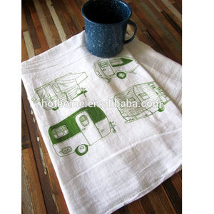 Wholesale blank German Kitchen Towel custom digital print tea towel for sublimation