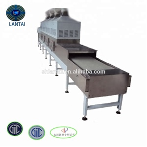 stainless steel food microwave drying machine chilli pepper dryer equipment