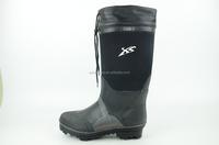 Mens Black Neoprene Rubber Winter Boots Waterproof Insulated Warm ...