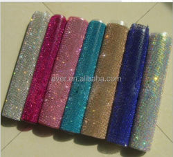 Wholesale AAA quality crystal rhinestone mesh in roll