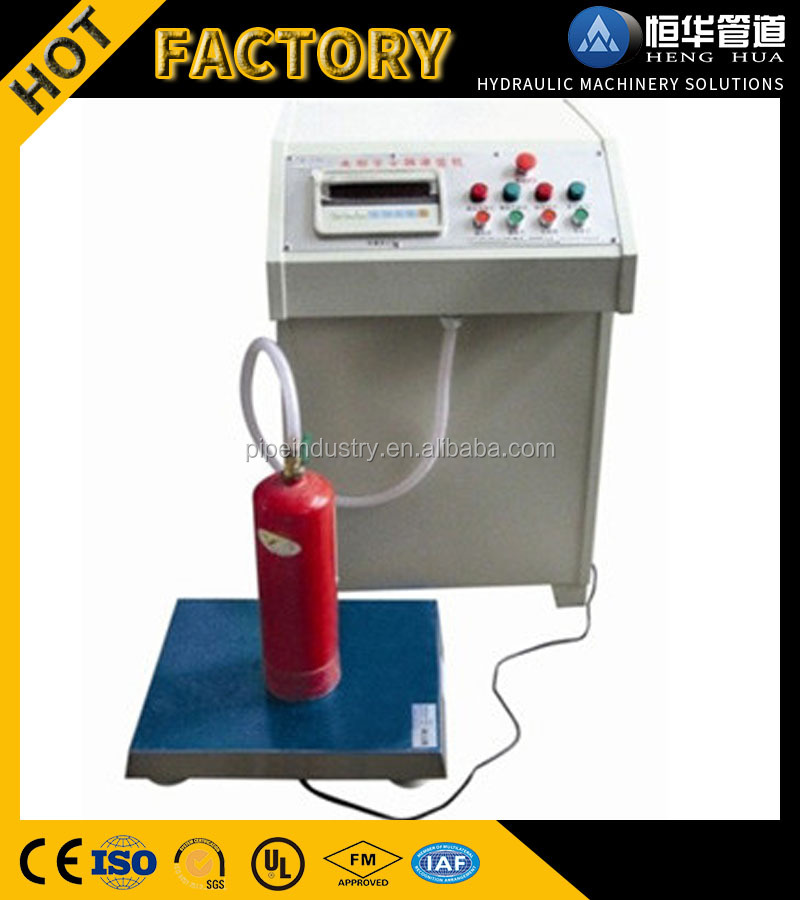 Shop Online Promotional Prices Fire Extinguisher Dry Powder Filling Machine
