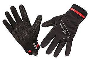 4ucycling Cycling Lambda Men's Gel Grip Padded Cycling Full Finger Gloves