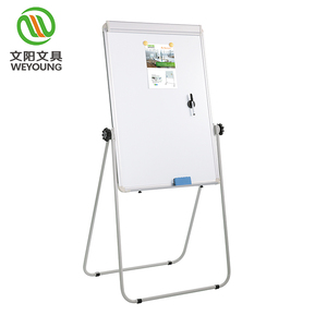 flip chart with clip writing white board standard size for classroom