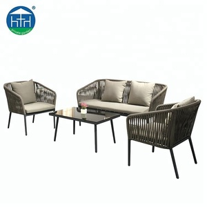 Factory Direct Wholesale New Design Rattan Modern Garden Sofa Patio Furniture
