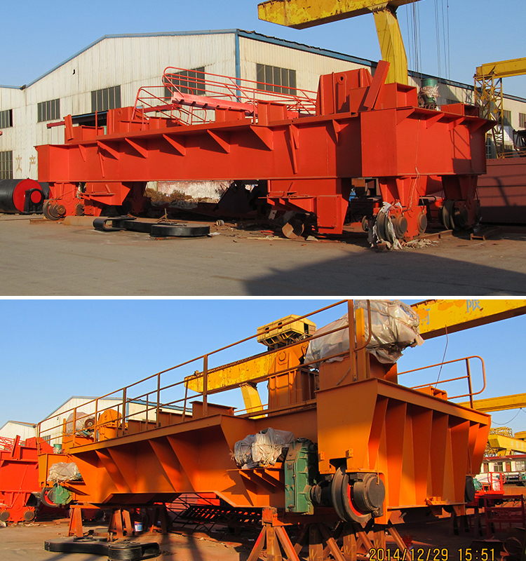 Steel Factory Ladle Lifting Foundry Overhead Cast Crane With Competitive Price