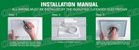 4 Inch Ceiling High Air Flow Lower Noise Bathroom Fan Light - Buy ...