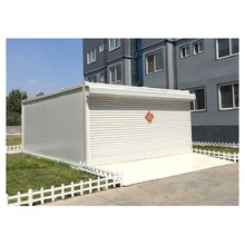 Modified two car portable shipping container garage