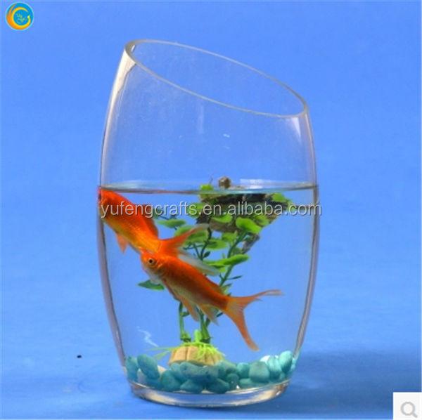 Agua salada de agua dulce acuario marino pecera de cristal ornamento tanque terrario