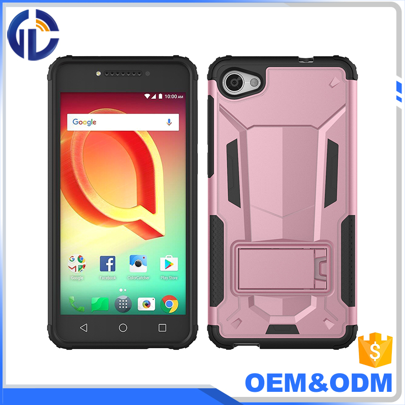 Wholesale super slim armor hybrid mobile phone cover case for Alcatel Crave/ Pulse mix/A5/A50