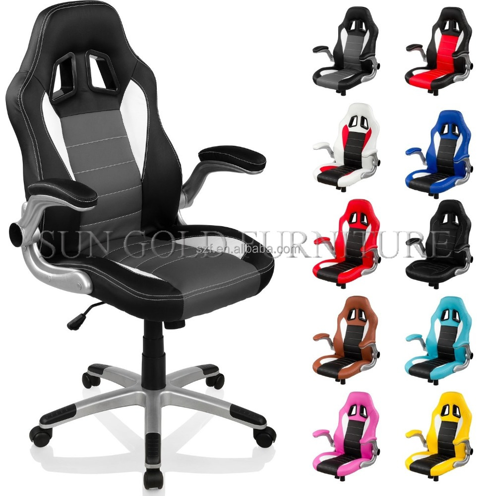 New Modern Leather Chair Gaming Office racing chair office(SZ-GC008)