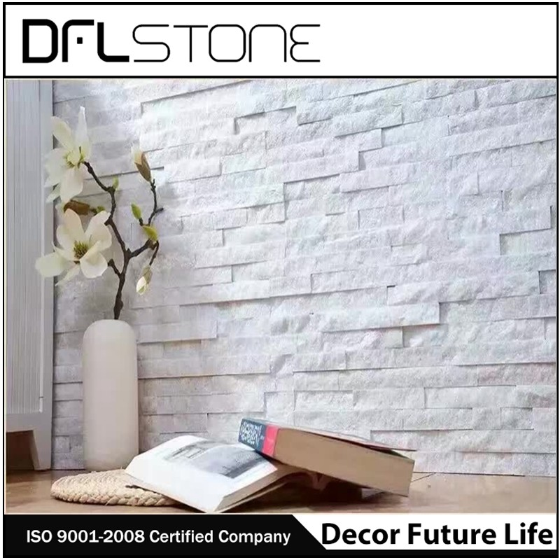 cultured stone quartzite quartz wall cladding natural stone panel