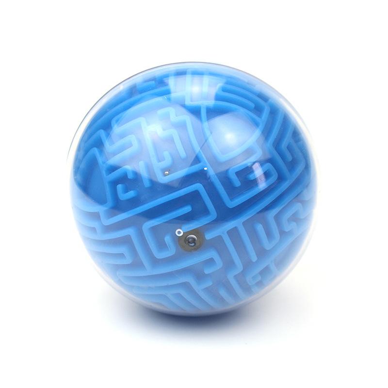 קסם פלסטיק מבוך פאזל 3d מוח משחקי צעצוע מבוך כדור נושאות מבוך משחק עבור ילד