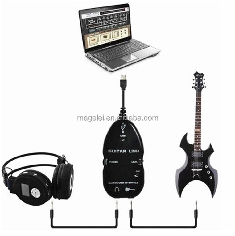 connect guitar to mac usb