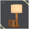 2017 New Design Home Decorative,Fabric Lamp Shades, Wooden Table Lamps
