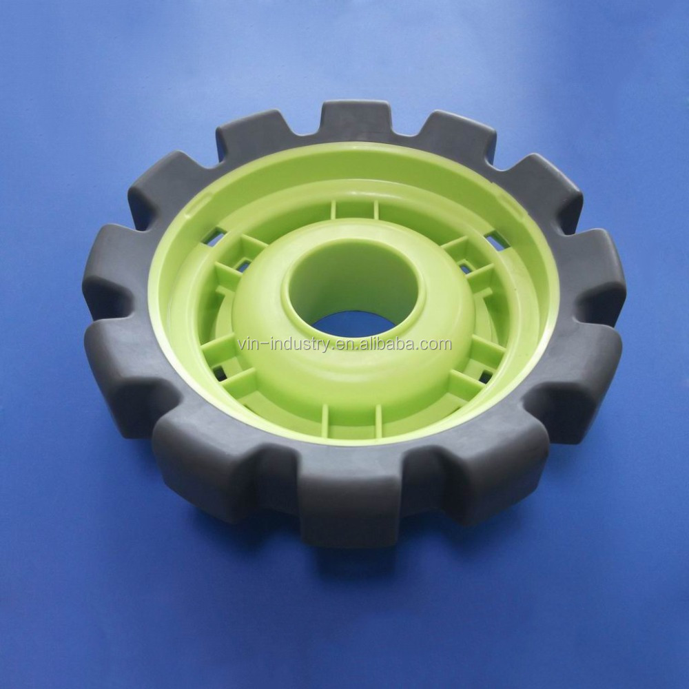 OEM custom plastic wheels for toys, plastic mold parts, plastic toy wheels