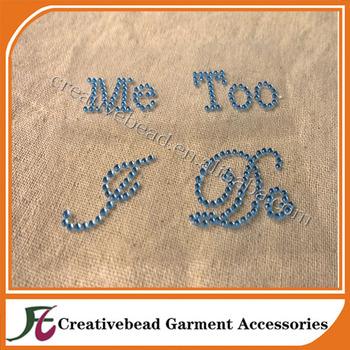 75fbe75e5 wholesale wedding rhinestone I DO   Me Too Bride Groom shoes stickers