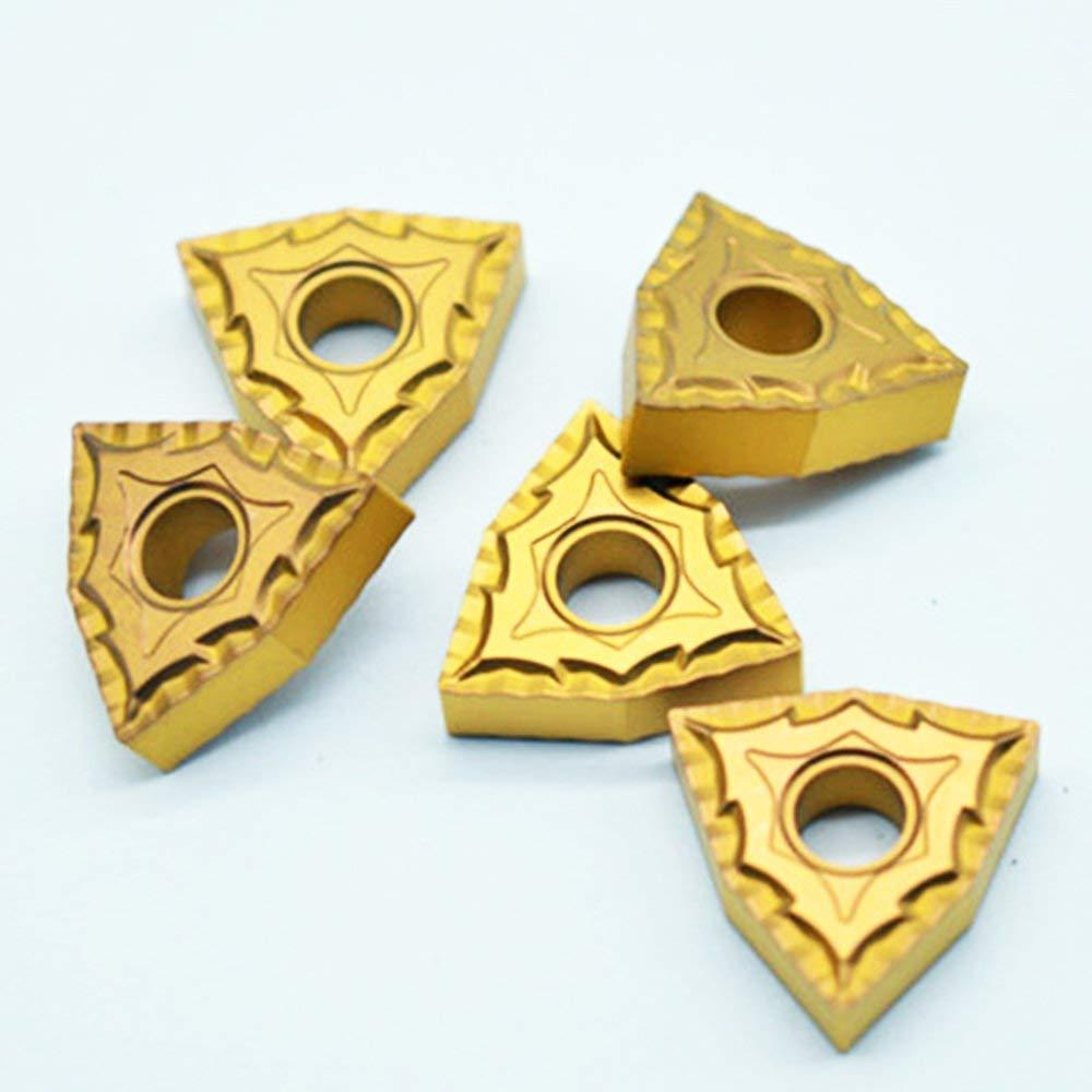 WNMG432//WNMG080408-TM Carbide Turning Inserts Grade PP6120//CVD Coating 10 Pcs