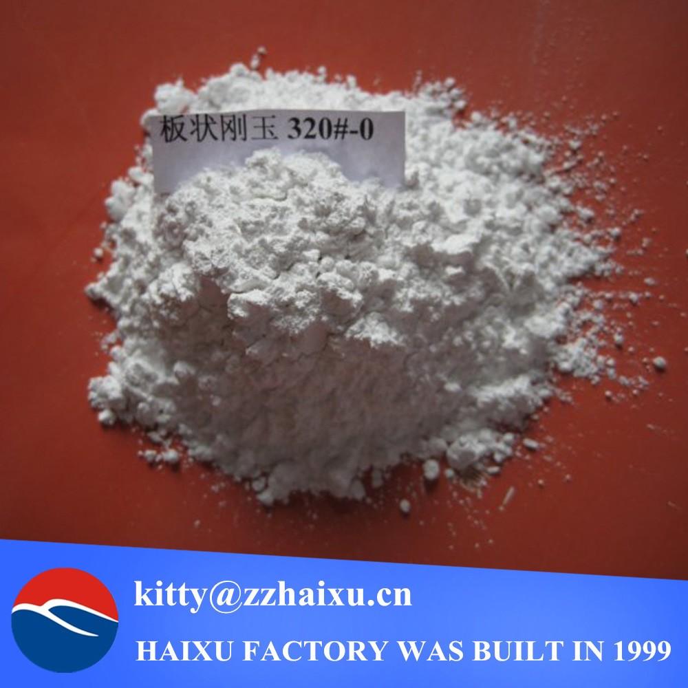 white tabular corundum/alumina 200#-0 powder for refractory brick