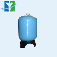 size 13x54 water filter using quartz sand ,resin, blue colour FRP tank / FRP vessel