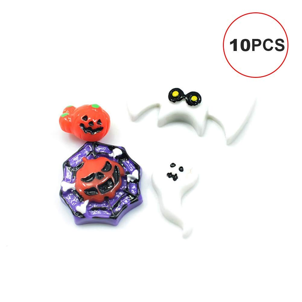 Halloween Decoration Bat for Phone Decoration Hair Accessories(White Bat)