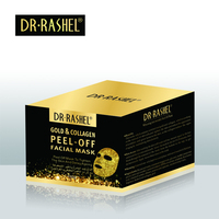 DR RASEHL skin care Peel Off facial Mask Whitening Anti Wrinkle Gold Collagen Face Mud Mask