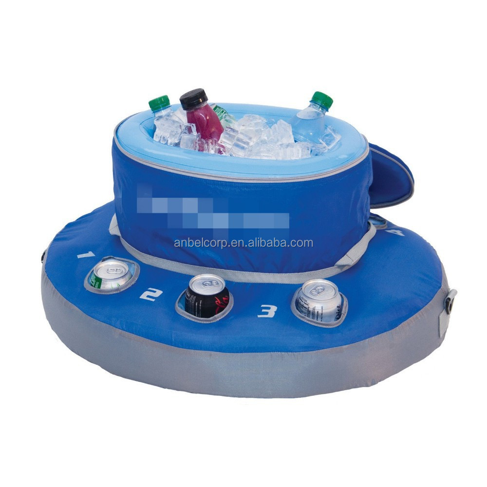 Anbel Swimming Pool Floating Cooler Drinks Inflatable Pool Party