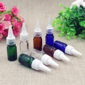 Empty 5ml 10ml 30ml PET/HDPE/LDPE Medical Eye Drops Bottle