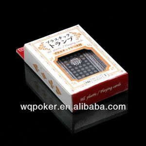 NAIPES brand plastic poker customized playing card