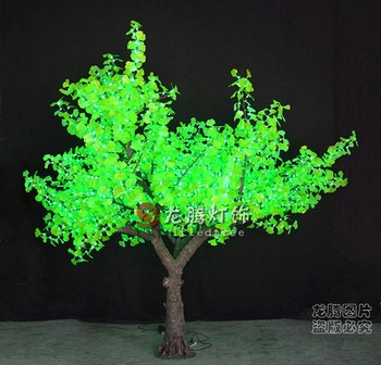 Tree Lights Artificial Led Ginkgo