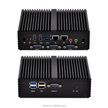 New 3 Display 2 Lan Core i5 Mini Pc Q450P with core i5-4200U,X86 Fanless desktop ,apply to POS systerm, proxy, Pc Router