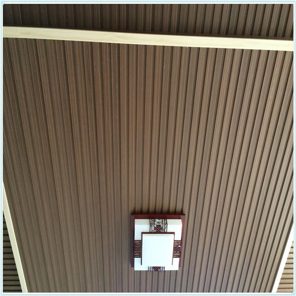 ninguna grieta madera plstico compuesto de paneles de pared interior