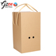 Wholesale flower shipping paper carton flower box