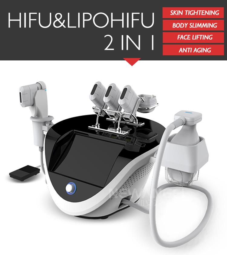 Comfortable face lifting wrinkle removal hifu machine portable mini hifu
