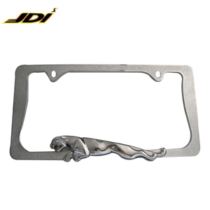 High Quality Customized Zinc Alloy Metal Car License Plate Frame USA