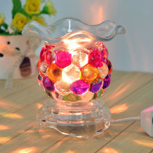 Made in china wholesale glass oil burner oil warmer electric fragrance lamp 91907