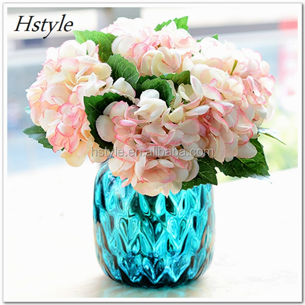 Single Stem Hydrangea Artificail Flowers FZH136
