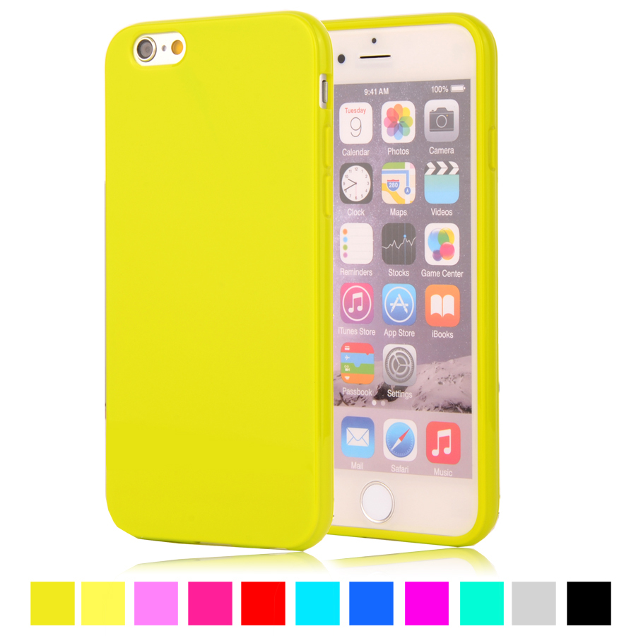 f4e3f07b653 For iPhone6S 6G 4 7 Candy Color Silicone TPU Gel Soft Case For Apple iPhone  6