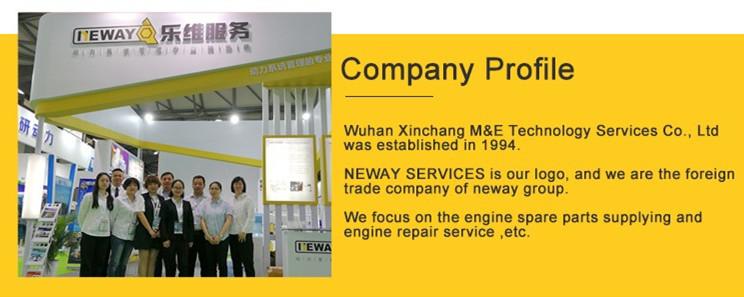 Original teil öl filter X57518300024 in lager für diesel gengine