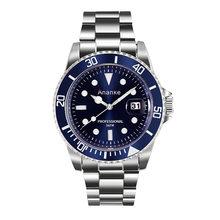 Роскошные мужские деловые кварцевые часы высокого качества Rolexable Модные мужские стальные часы в деловом и повседневном стиле часы Erkek Saatler(Китай)