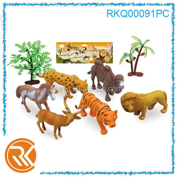 Plastic Jungle Animal Toys Zoo Animal Set Toys Forest Animal Set