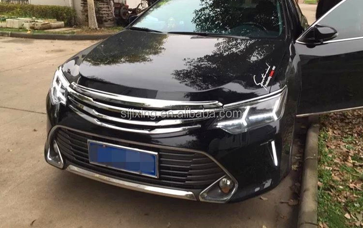 front bumper grille for camry 2015 2016 auto parts buy. Black Bedroom Furniture Sets. Home Design Ideas