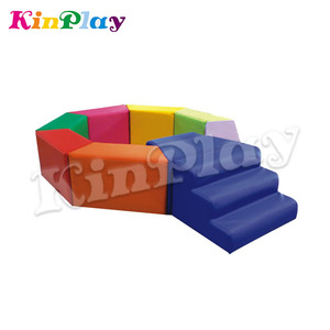 KINPLAY Brand 2018 New Style Kids Indoor Soft Play Sets, Soft Foam Play In China