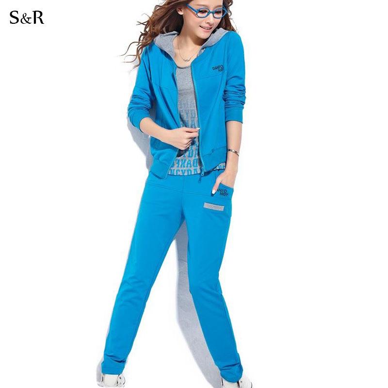 Aliexpress.com : Buy Hoody Sport Suit Women Sportswear ...