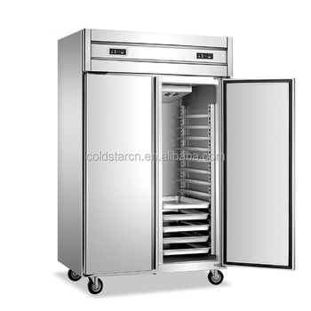 Commercial Freezer, 2 Door Top Mount kitchen fast food freezer, Energy Star