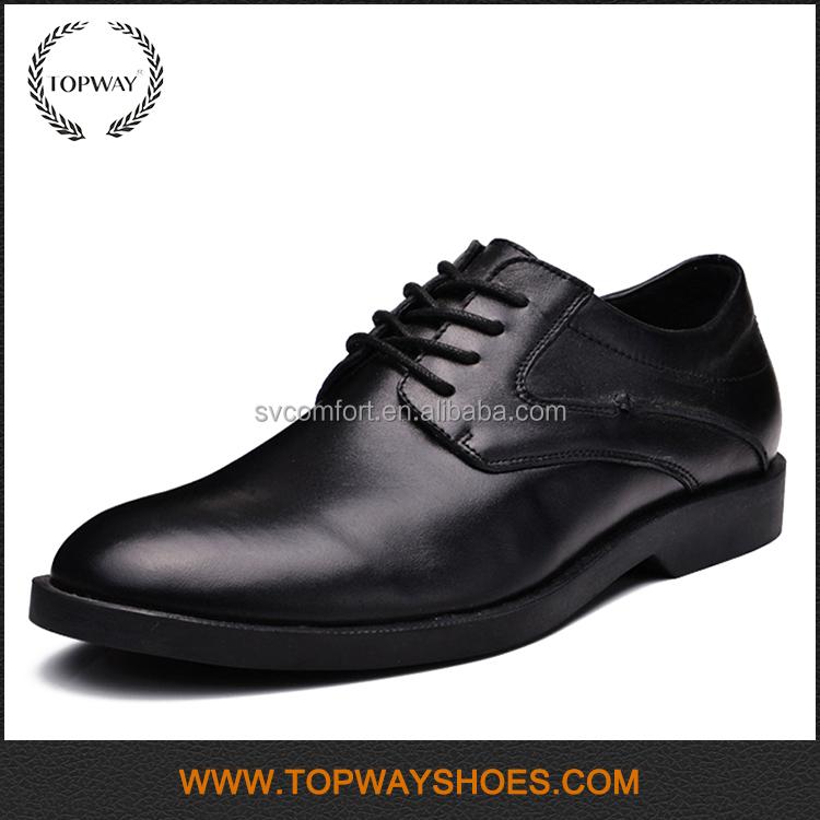 leather dress heel high genuine men Italian style shoes z6q77