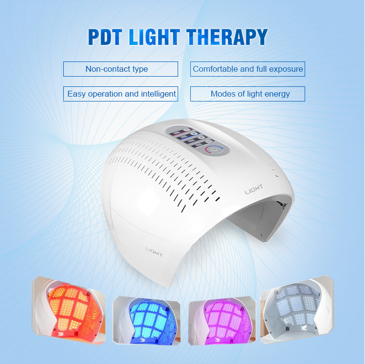 4 colors omega light machine led light therapy